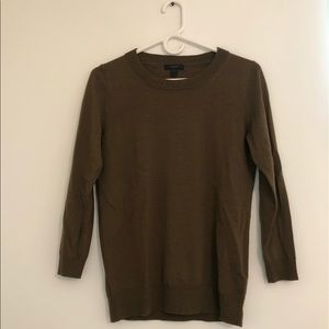 J. Crew Merino Wool Sweater   Small